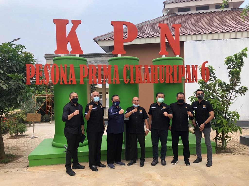 Kunjungan BPKN ke perumahan Subsidi Pesona Prima Cikahuripan 6