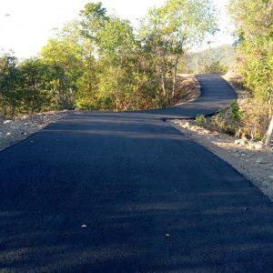 jalan aspal hotmix