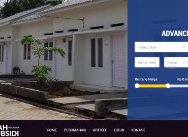 website rumah subsidi kementerian pupr